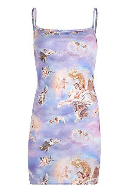 malianna  Cherub Mini Dress