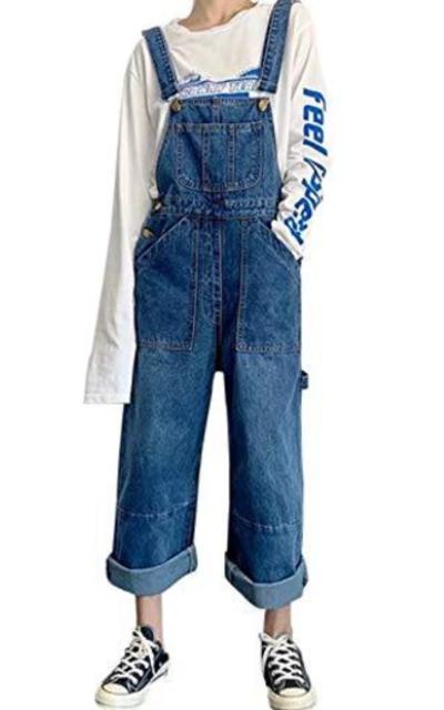 Firehood  Denim Bib Overalls Jeans