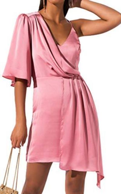 AKIRA  Draped Mini Dress