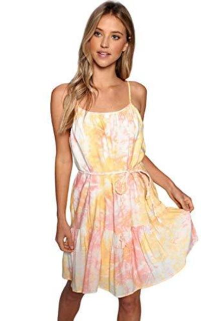 Tie Dye Marble Circle Dress