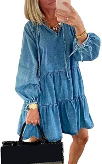 watersouprty Denim Dress