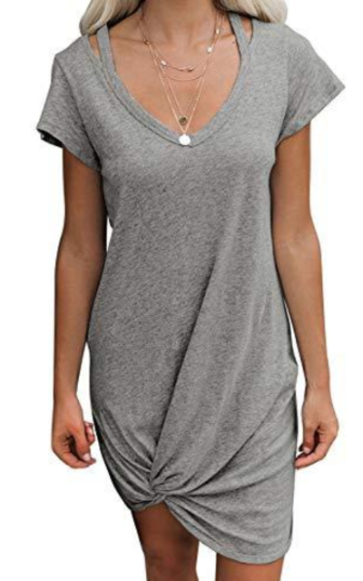 EVALESS Tshirt Dress