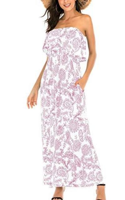 MIDOSOO Maxi Dress