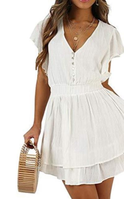 Hellozebra A-Line Mini Dress