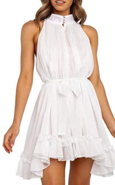 Lovezesent Chiffon Mini Dress