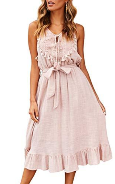 Glamaker Bohemian Beach Flowy Dress