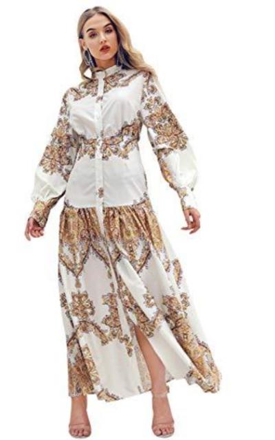 D Jill Shirt Maxi Dress