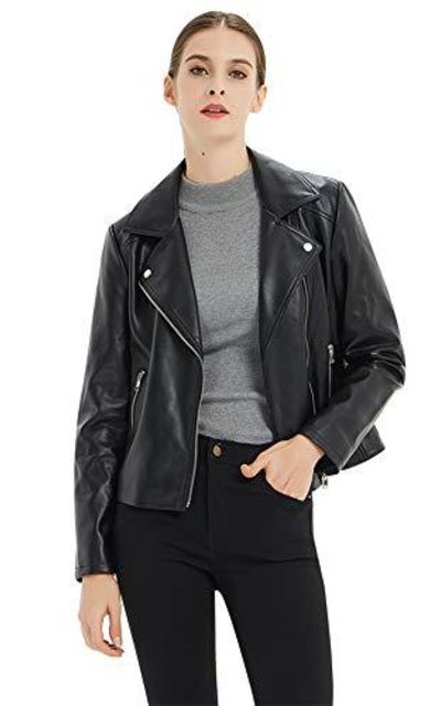 CGTL Faux Leather Jacket