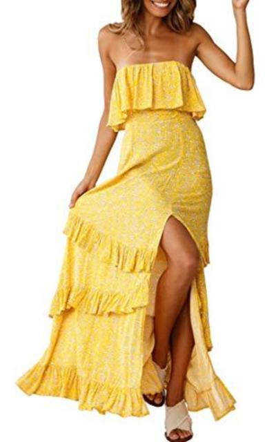 Zattcas Boho Maxi Dress