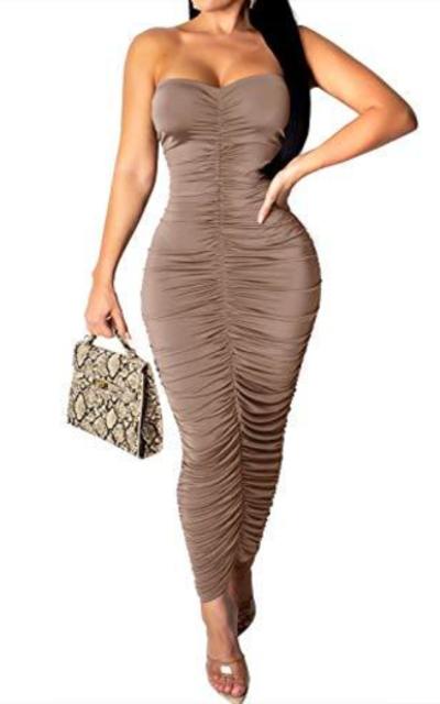 VWIWV Ruched Dress
