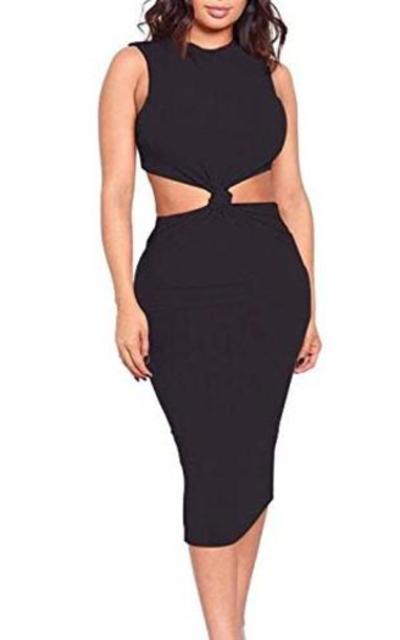 acelyn  Midi Club Dress