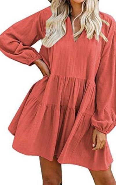 FANCYINN Shift Tunic Dress