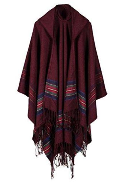 2017 Oversized Wool Pashmina Cardigan
