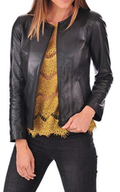 DOLLY LAMB Biker Jacket