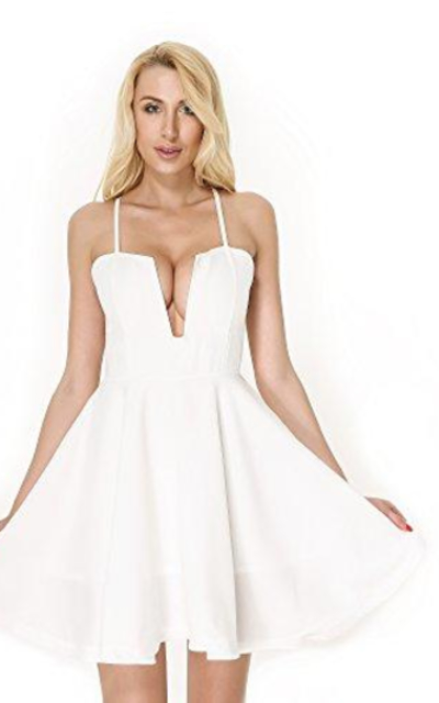 Moxeay  Mini Club Dress