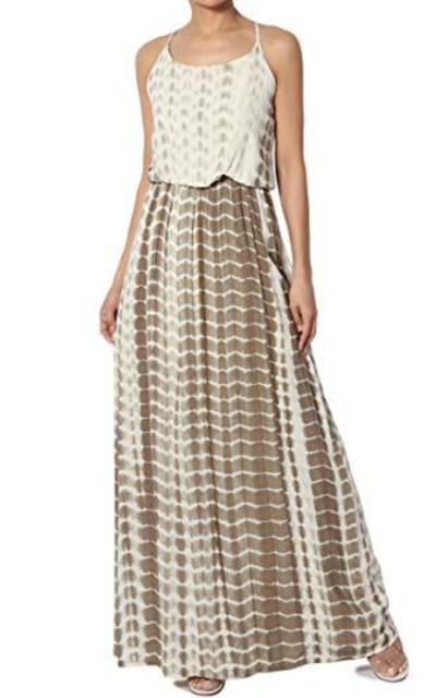 TheMogan Maxi Dress with Pocket