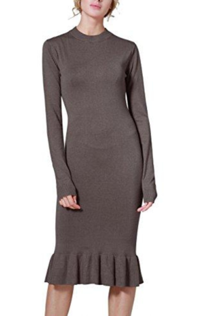 Rocorose Bodyon Mermaid Knit Dress