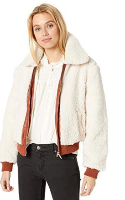 [BLANKNYC] Faux Sherpa Jacket Outerwear