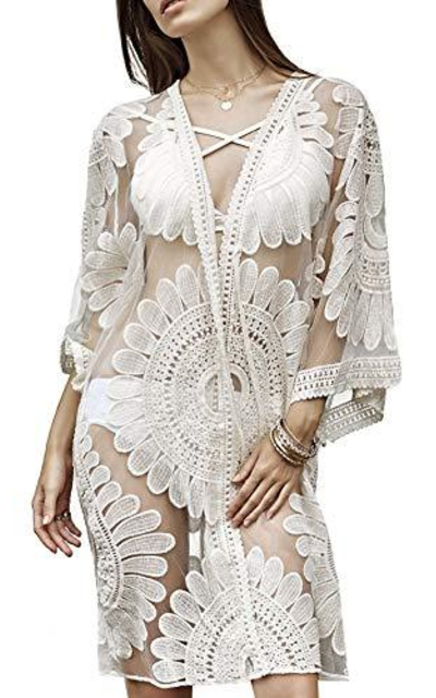 ATHWILL Cover-up Beach Dress