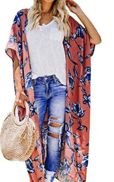 Kimono Cardigan Cover Up