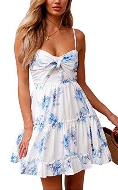 ECOWISH Mini Swing Dress