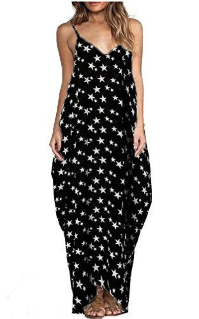 ZANZEA Star Maxi Dress
