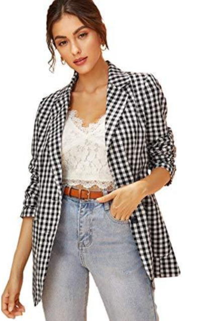 MAKEMECHIC Blazer Jacket