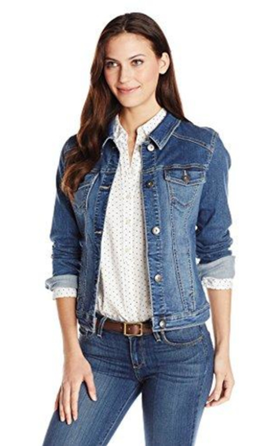 Wrangler Authentics Stretch Denim Jacket