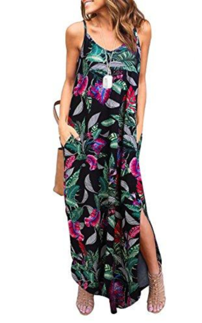 HUSKARY Cami Maxi Dress