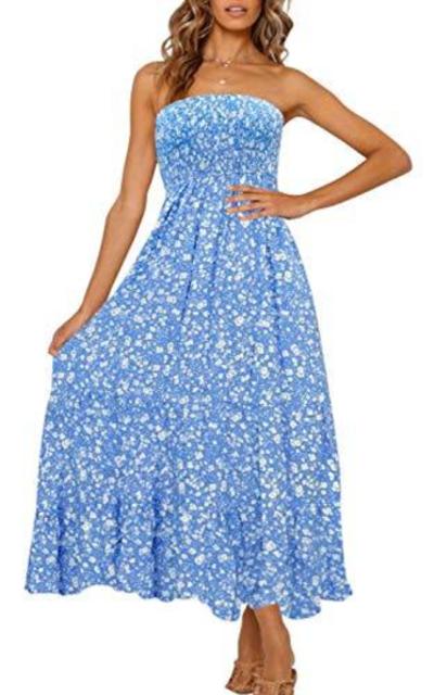 ZESICA Maxi Dress