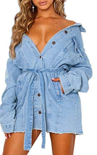 Eliacher Denim Jacket Dress
