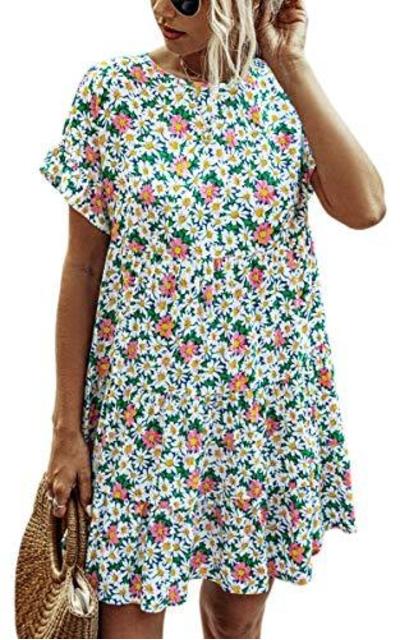 Angashion Tunic Dress