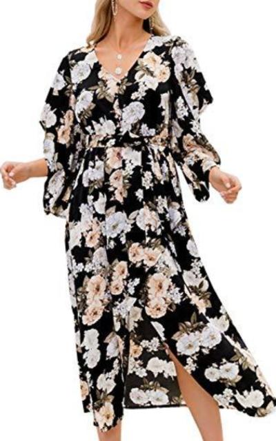 MsLure Floral Maxi Dress