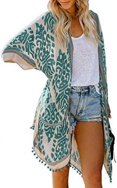 Dokotoo Kimono Coverup