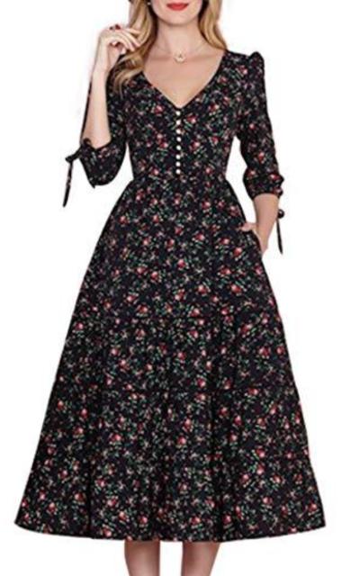 Simple Flavor Vintage Dress