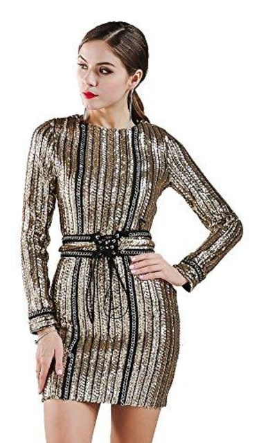 Miss ord Sequin Mini Dress
