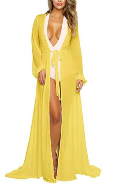 Mesh Maxi Cover Up Dress