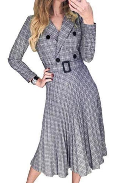 Miessial Blazer Midi Dress