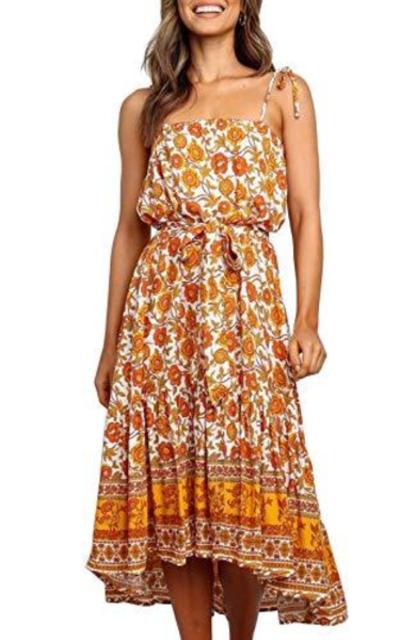 MITILLY Floral Midi Dress