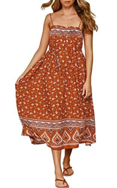 ZESICA Swing Dress