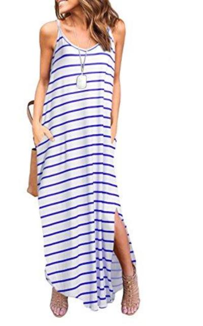 HUSKARY Maxi Dress with Pocket
