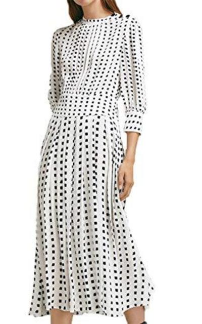 ASMAX HaoDuoYi Pleated Waist Dress