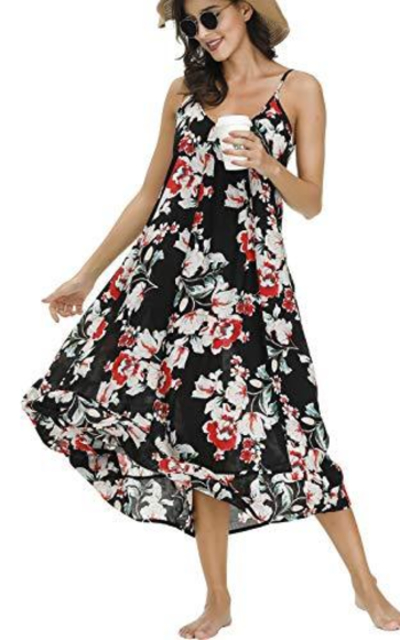 BUENOS NINOS Floral Maxi Dress