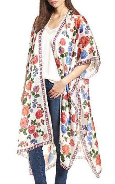 Hibluco Floral Kimono