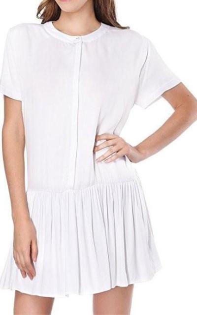 CIZITZZ Dress with Pleated Hem