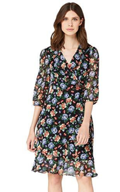 TRUTH & FABLE Avery Floral Dress