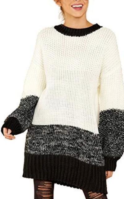 Relipop Pullover Short Sweater Dress