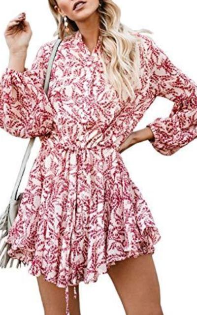 Kaei&Shi Floral Print Dress