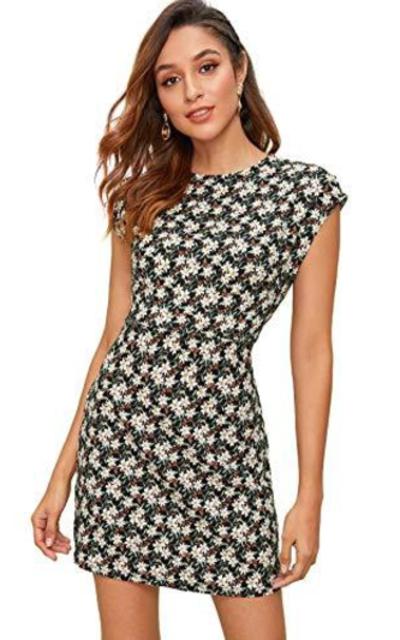 Romwe Short Mini Dress