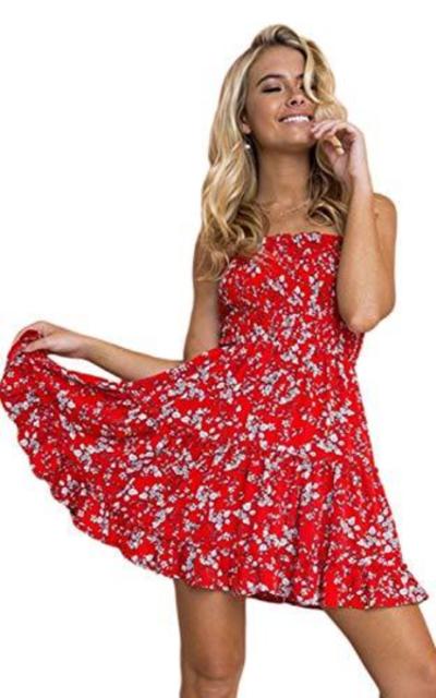 Zonsaoja Strapless Dress